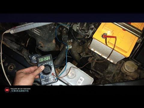 Проверка Утечки Тока в Автомобиле - Geely CK