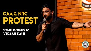 CAA & NRC Protest   Stand-up Comedy by Vikash Paul