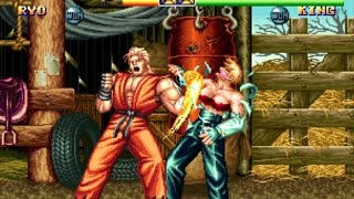 【60fps】龍虎の拳2 超必殺技・隠し必殺技集