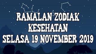 Ramalan Zodiak Kesehatan Hari Ini Selasa 19 November 2019