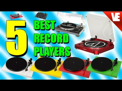 Record Players: Top 5 Picks