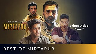 Best of MIRZAPUR - Pankaj Tripathi, Ali Fazal, Vikrant Massey | Amazon Original