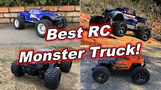 Best RC Monster Truck! - Traxxas Stampede, Arrma Granite, Losi Tenacity Pro, Associated Rival MT10