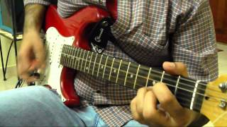 Guitar cover of Doro Warlock's 'Always live to win'