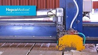 콘크리트 컷팅 어플리케이션에 사용된 HDS2