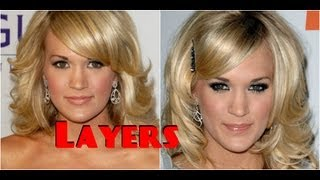 How To: Cut Your Hair In LAYERS Do A Medium Long LAYERED HAIR CUT Step By Step Tutorial