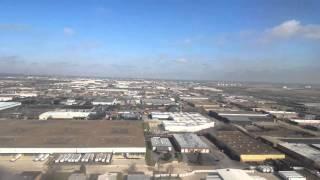 United 2023 Houston to Chicago landing 3-25-16
