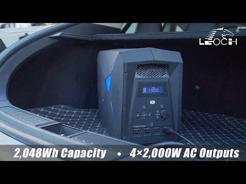 LEOCH: The Next Generation Battery Power Station!-GadgetAny