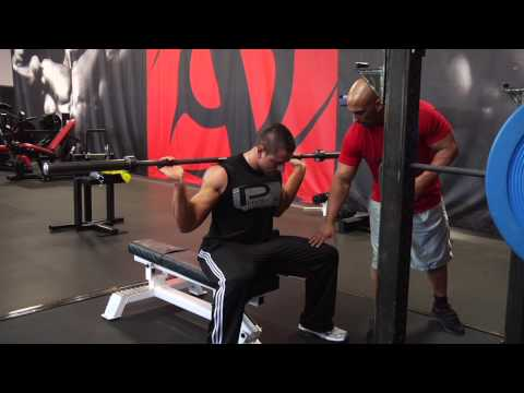 Seated Barbell Good Morning