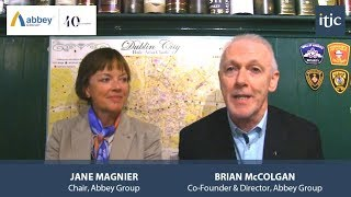 Abbey Group celebrates 40 years - ITIC talk to Brian McColgan and Jane Magnier