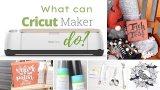 What You Can Do With Cricut Maker!