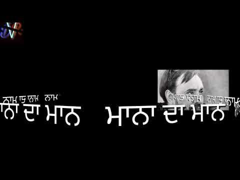 Babbu😎Maan (Aaj Din Hashar Da song) WhatsApp status