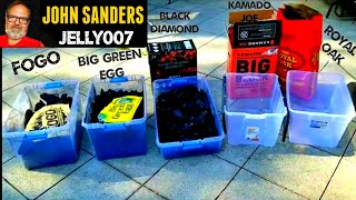 FOGO CHARCOAL VS GREEN EGG VS KAMADO JOE BIG BLOCK VS ROYAL OAK VS BLACK DIAMOND Compare and review