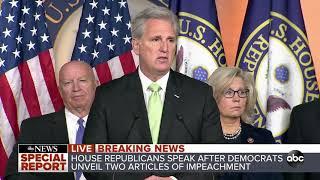 House Republicans respond to articles of impeachment l ABC News