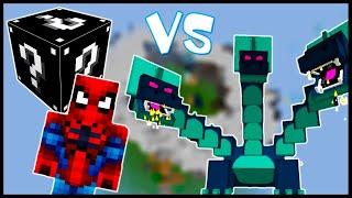 Чёрный Лаки Блок & Человек-Паук VS Гидра! - Лаки Битва #5