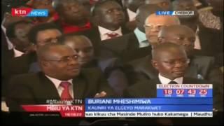 Baringo Seneta Gideon Moi ahudhuria buriani ya mheshimiwa Nicholas Biwott kijijini Cheboir