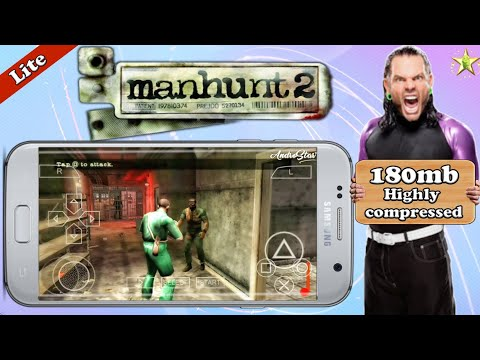 150mb] Manhunt 2 PPSSPP highly compressed Game on android