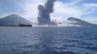 Die besten 100 Videos Volkan Eruption in Papua New Guinea - Mount Tavurvur August 2014. Achtung Laut!