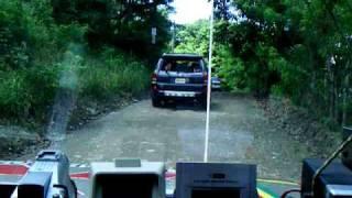 preview picture of video 'El Discovery Road en Loma de los Angeles, La Vega, estrenando 4Runner, Casa de JuanPa'