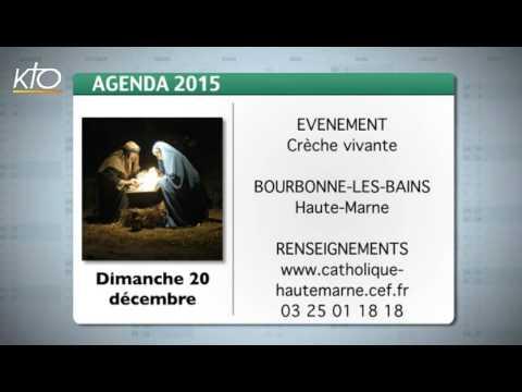 Agenda du 14 décembre 2015