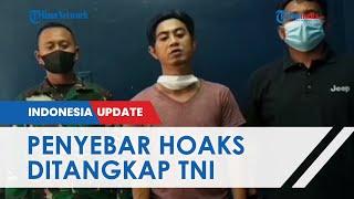 Penyebar Video Hoaks Tank TNI Lakukan Penyekatan Mudik Ditangkap Kodam Jaya, Pelaku Minta Maaf