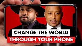 Daymond John Power Talks - D-Nice shares how to change the WORLD without leaving your home