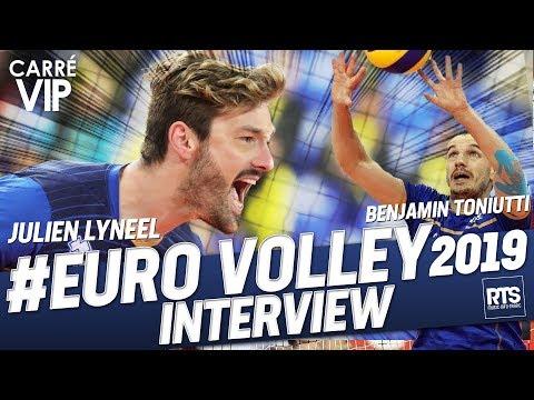 Julien Lynel, Benjamin Toniutti en route pour l'euro 2019