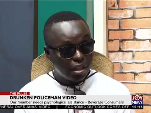 Drunken Policeman Video - The Pulse on JoyNews (28-6-18)