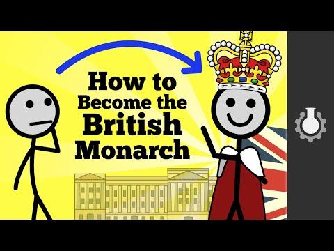 Jak se stát anglickým monarchou?