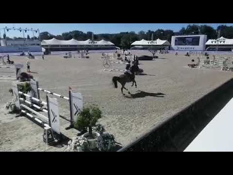 Win for Emma Stoker and Japatero VDM in the 1m40 class at CSI2** St Tropez