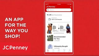 How to Use The JCPenney App   JCPenney
