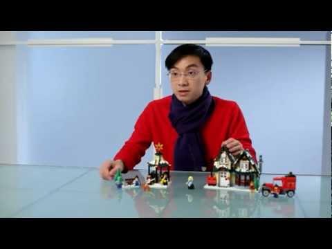 LEGO Winter Postkantoor (Winter Village Post Office) 10222