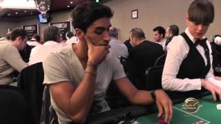 Filippo Magnini In All-in Alle PokerClub Live Series Di Saint-Vincent