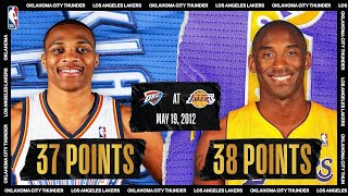 Westbrook & Kobe Duel, KD Hits Clutch Shot | #NBATogetherLive Classic Game