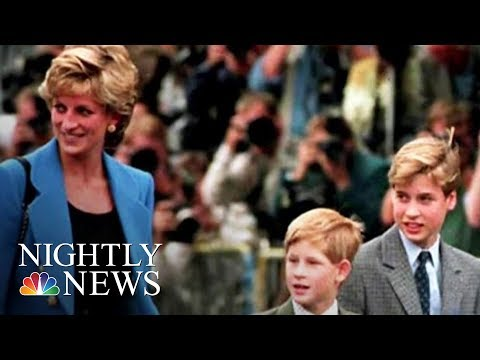 Princess Diana Documentary: Through The Eyes Of Her Children | NBC Nightly News
