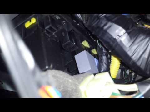 How to replace flasher  on 2003 hyundai accent