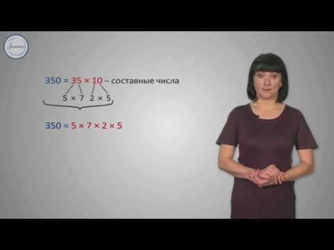 Простые числа. Разложение числа на простые множители