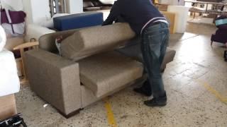 ¿Cómo funciona un sofá cama con sistema italiano?