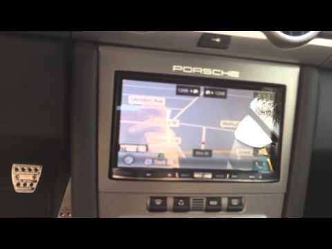 PORSCHE 911 GT2 Carrera 997 PCM Upgrade Pioneer AVIC-8000NEX