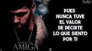 Amiga - Anuel AA  (Video)