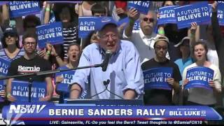 Bernie Sanders Speaks at Rally in Gainesville, FL - FULL - FNN