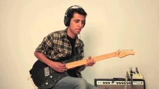 Daft Punk   Get Lucky (Guitar Cover By Amir Alavi)