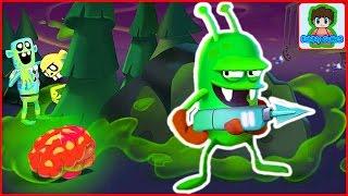 zombie catchers Ловцы зомби игра как мультик для детей от фаника 4