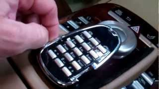 2007 Mercedes S550 Center Wrist Rest Repair Procedure