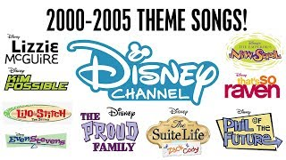 2000 2005 Theme Songs! | Throwback Thursday | Disney Channel