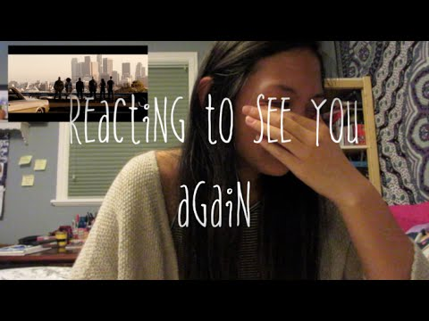 Wiz Khalifa - See You Again ft. Charlie Puth [Official Video] REACTION