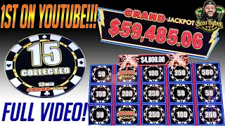Biggest Jackpot Of My Life 🎰 1st On YouTube 💰 HIGH LIMIT LIGHTNING LINK GRAND JACKPOT 💪