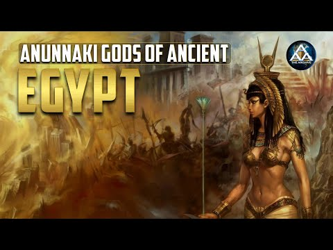 Anunnaki-goden van het oude Egypte