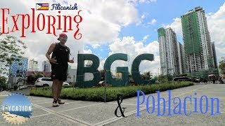 TOP THINGS TO DO IN MANILA PHILIPPINES | BGC & POBLACION TRAVEL VLOG