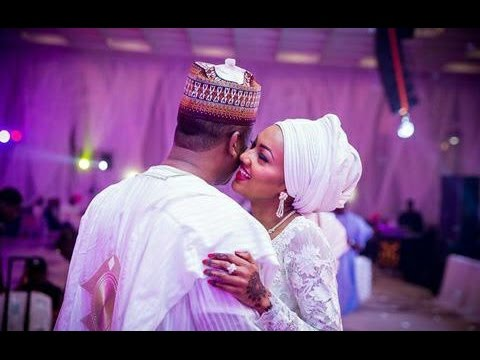 Zahra Buhari's wedding thing